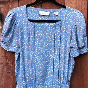 Amazing!!! Vintage Nipon Boutique Floral Dress 10